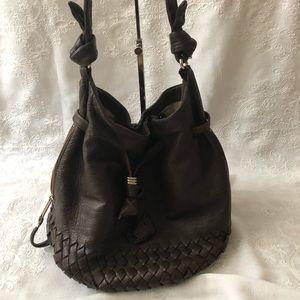 Elliott Lucca brown leather bag
